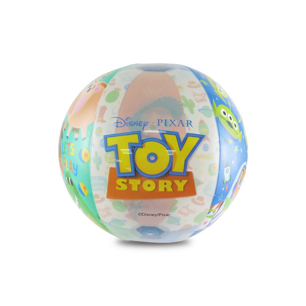 Disney迪士尼玩具總動員充氣海灘球_巴斯三眼