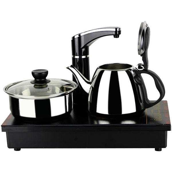 110v電熱水壺美國日本台灣小家電全自動上水抽水電茶爐燒水茶具 露露日記