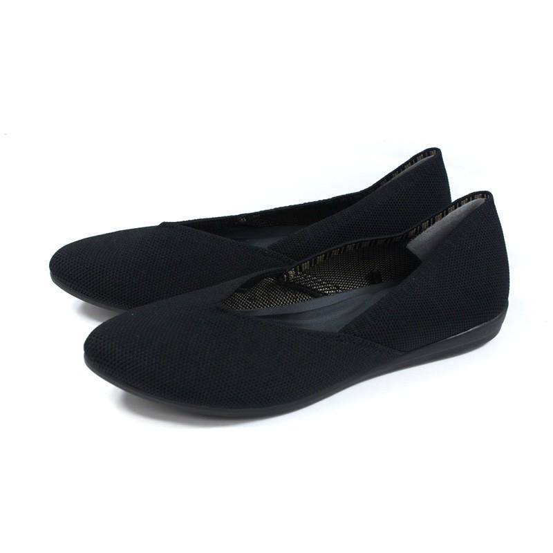 inooknit 懶人鞋 尖頭 黑色 編織 女鞋 IK-BJ2FW0103-111 no036