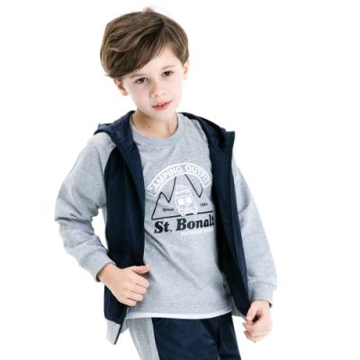 【St. Bonalt 聖伯納】兒童拼接防風外套│童款-8077