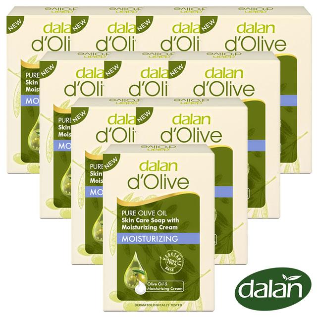 【土耳其dalan】頂級橄欖油深層滋養乳霜皂100g 10入組