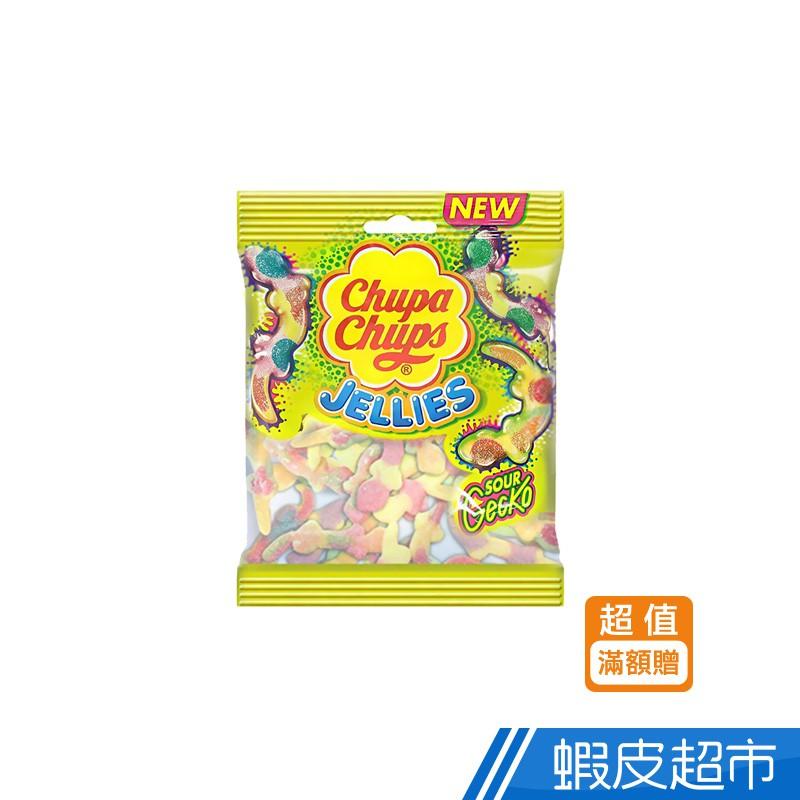 Chupa Chups 加倍佳 壁虎造型-酸甜軟糖90g/袋 (贈品) 現貨 蝦皮24h