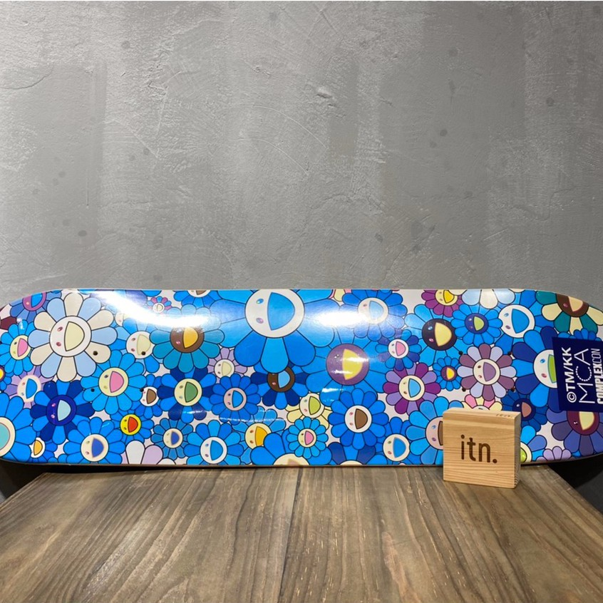 Murakami Takashi Complexcon deck 村上隆 滑板 藍色