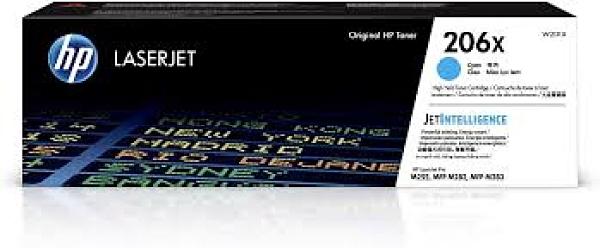 W2111X HP 206X 原廠青色高容量碳粉匣 適用 CLJ M255dw/M283/M283fdw