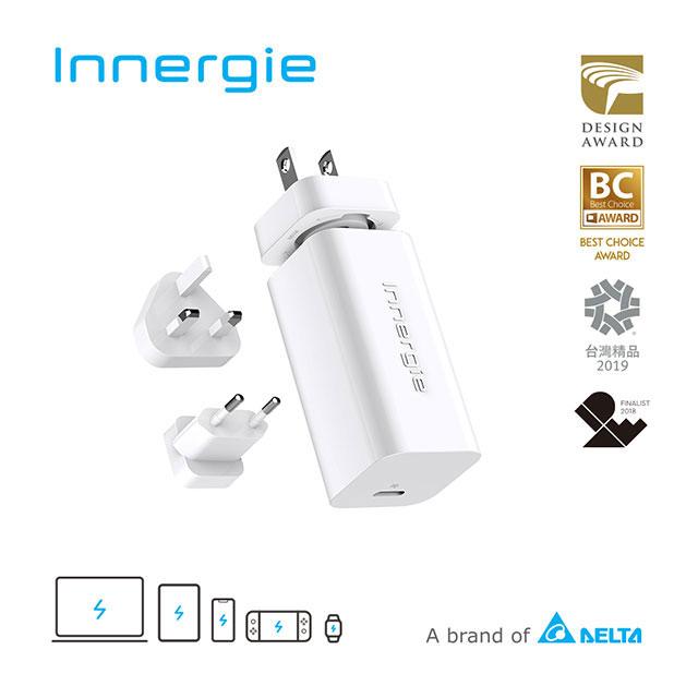 Innergie PowerGear 60C  / 60瓦 USB-C 筆電充電器 (國際版)