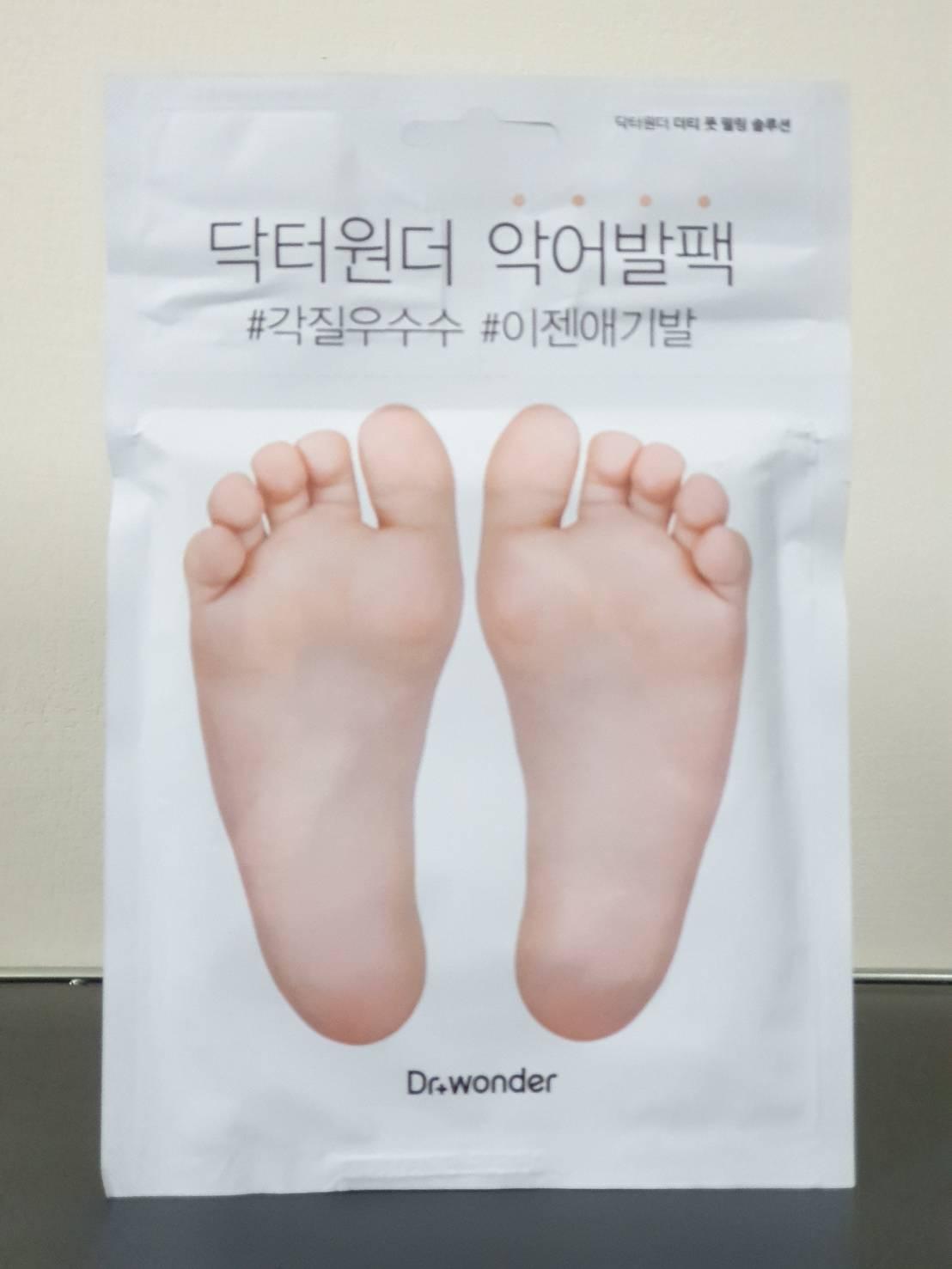 [現貨24H]【Dr.wonder】去角質滋潤足膜 #去角質#韓國#國民腳膜#韓國熱賣