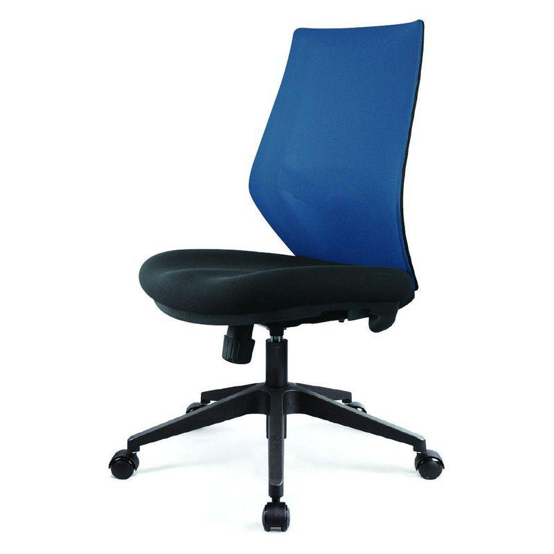 【CH24-01】網布無扶手辦公椅#JS-A463TG-B