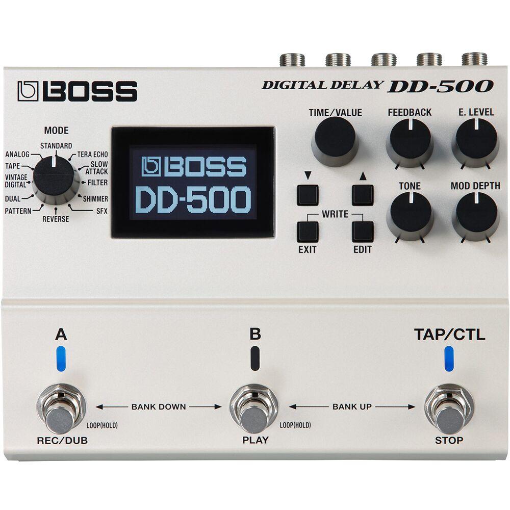 BOSS DD-500 數位 Delay 效果器