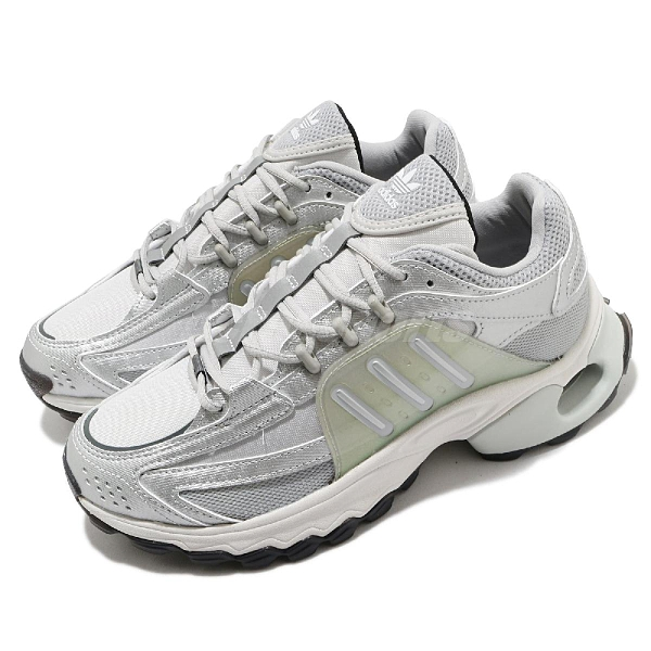 adidas 休閒鞋 Thesia W 灰 銀 女鞋 老爹鞋 厚底 微增高 運動鞋【ACS】 FZ1565