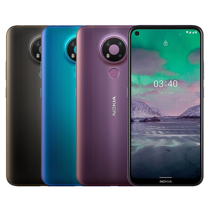 NOKIA 3.4 (3G/64G) 6.39吋三攝AI鏡頭強大的芬蘭血統手機驚碳黑