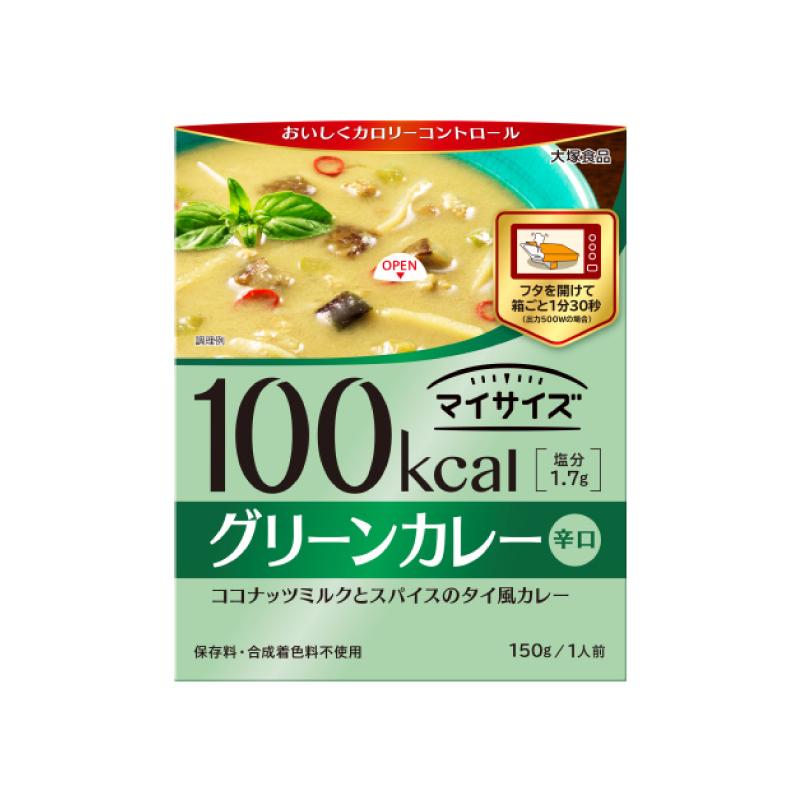 *不到100卡 [日本 大塚食品] 輕食主義低卡調理包 - 椰奶綠咖哩 (150g/份)