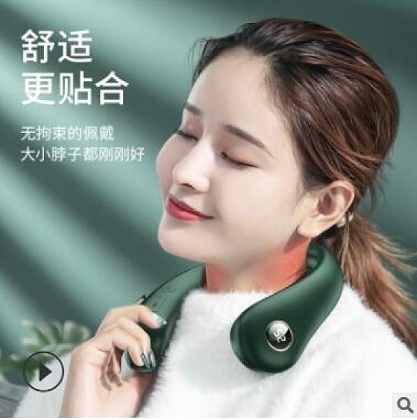 台灣現貨 亞馬遜新型便攜掛脖取暖儀護頸儀暖脖寶創意恒溫發熱暖手寶充電寶