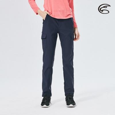 ADISI 女彈性多袋撥水三季休閒長褲AP2091024 (S-2XL) 丈藍