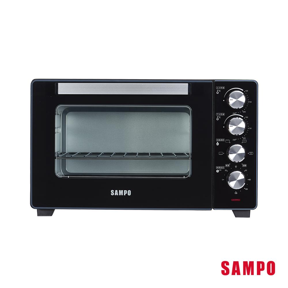 SAMPO聲寶 32公升雙溫控旋風電烤箱 KZ-XR32F