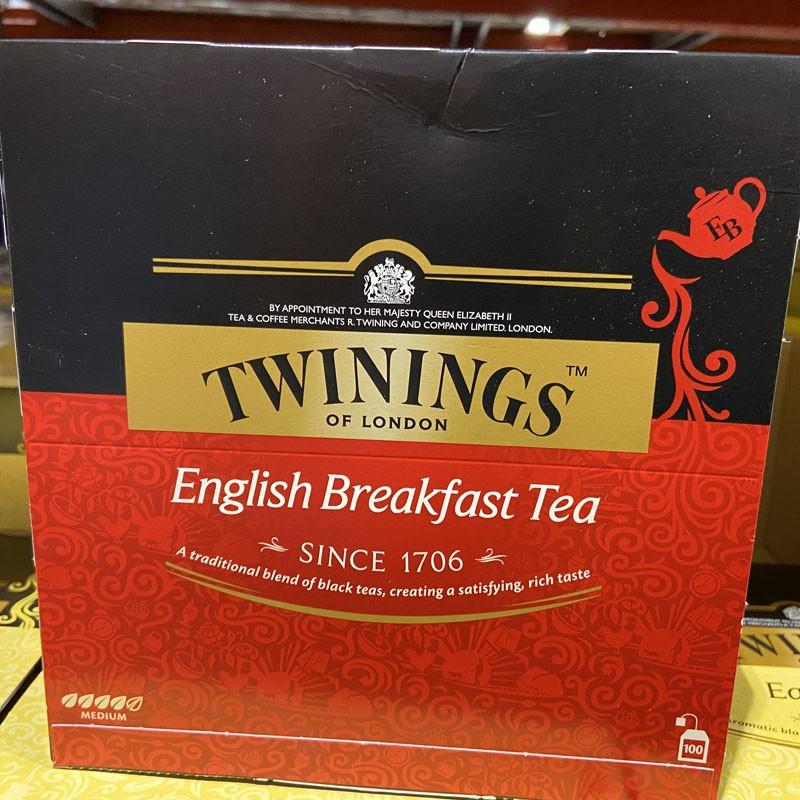 Twinings 英倫早餐茶 2公克 X 100包 W85984 COSTCO代購