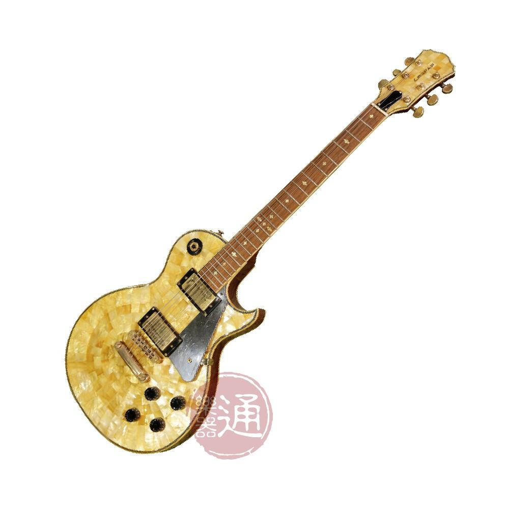 Legpap / LE-LC10 電吉他(手工黃金貝殼)【樂器通】
