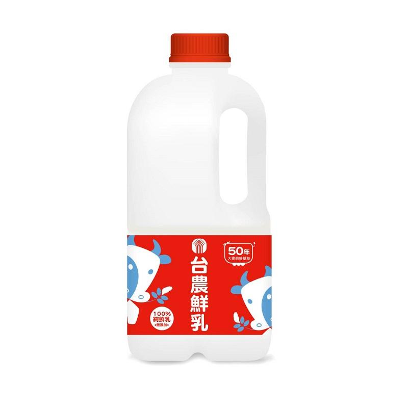 台農鮮乳1858ml(無調整)到貨效期約6-8天