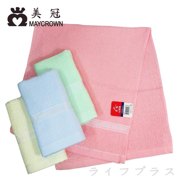 彩緞檔毛巾-33x76cm-1096-3入