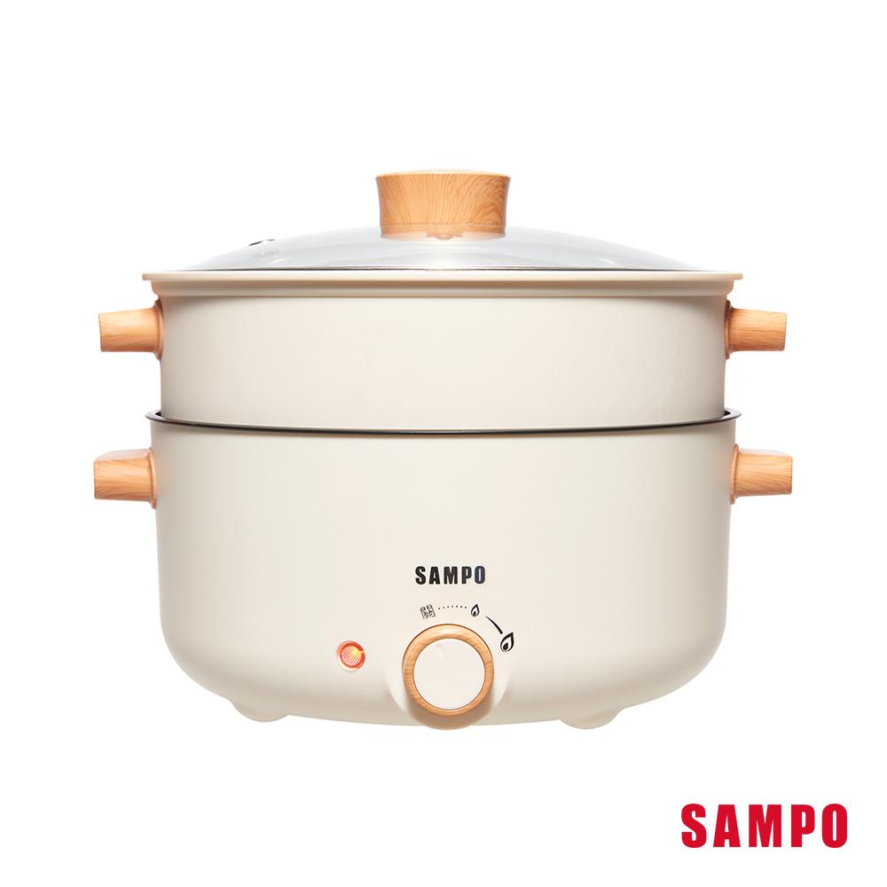 SAMPO聲寶 3L日式多功能蒸煮料理鍋(附蒸籠) TQ-BE30C