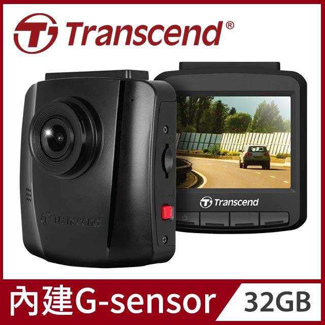 Transcend 創見 DrivePro 110 超值型SONY高感光 F2.0大光圈 130度廣角行車紀錄器