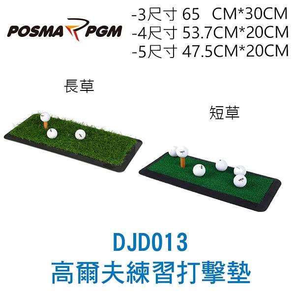 POSMA PGM 高爾夫練習打擊墊 短草 (53.7 CM X 20 CM) DJD013-4S