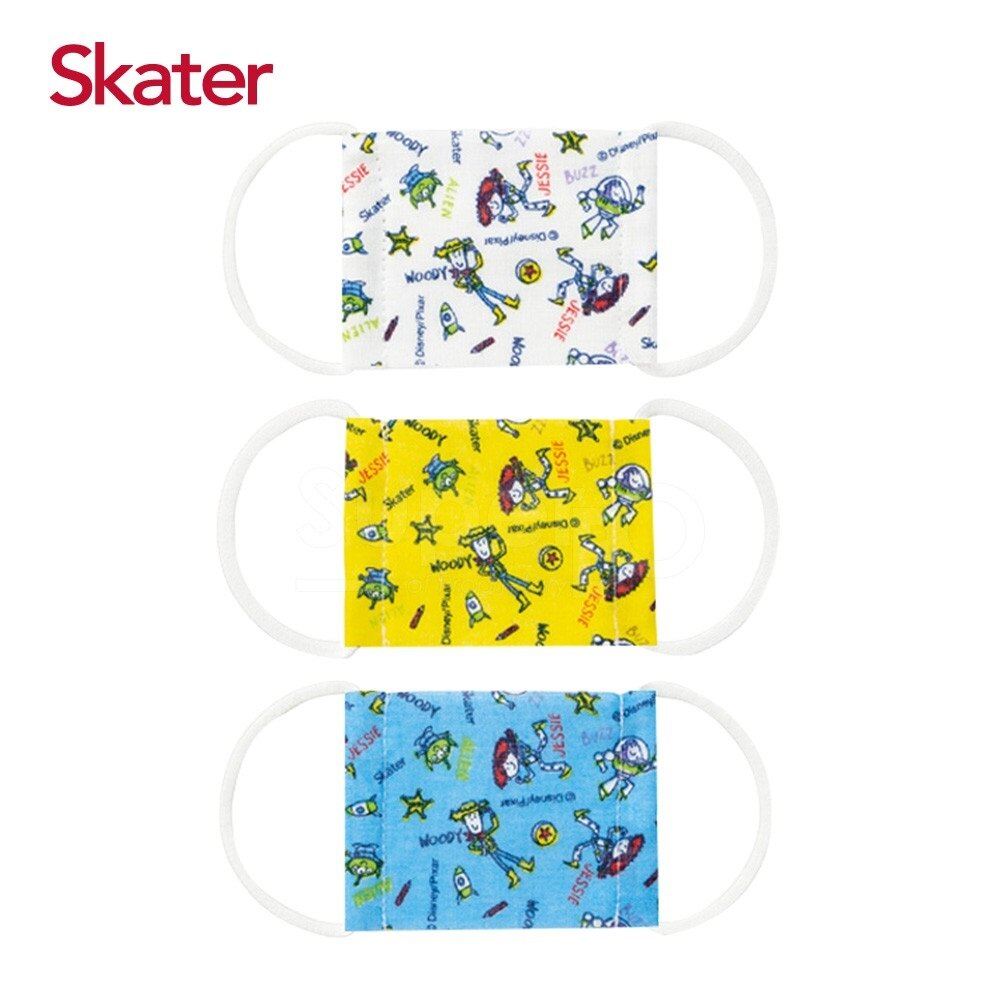 日本 Skater 幼兒紗布口罩-玩具總動員 (2-4y/3-10y)