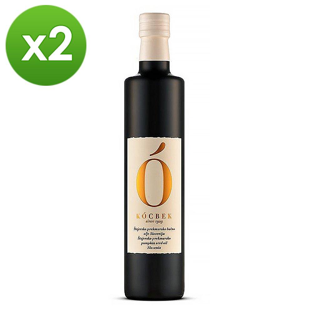 【Kocbek 克北克】頂級初榨南瓜籽油250mlx2(豐腴堅果風氣滿足您的味蕾)