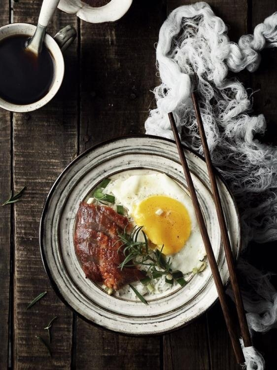 碗碟套裝 Lototo日式陶瓷餐具湯碗大碗家用面碗拉面碗創意泡面碗沙拉單個碗[優品生活館]