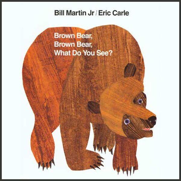 上誼 艾瑞卡爾 英文棕色的熊你在看什麼?(硬頁書)