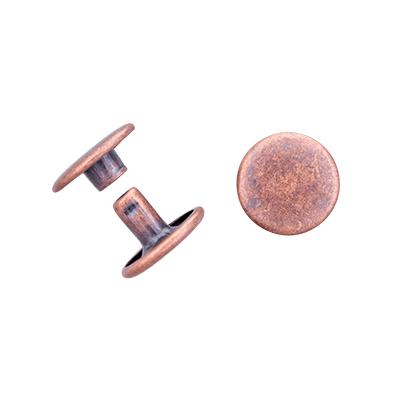 IVAN 13x7mm雙包撞釘/紅古銅色(10/包)1371-8410