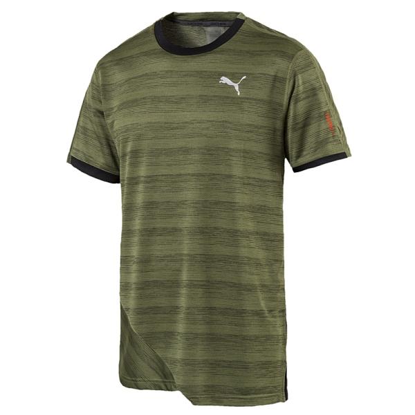 Puma 男款 綠色 短袖T恤 棉質上衣 訓練系列 透氣 吸濕 排汗 短袖 51736203