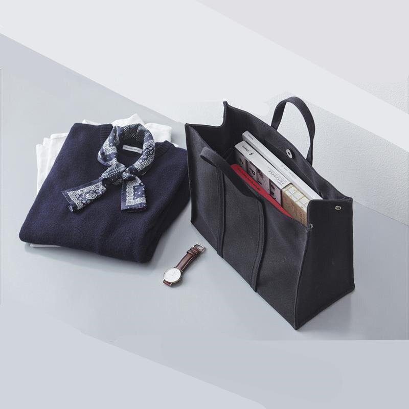 上班帆布包女新款手提職業辦公大學生筆記本書包大容量公文包
