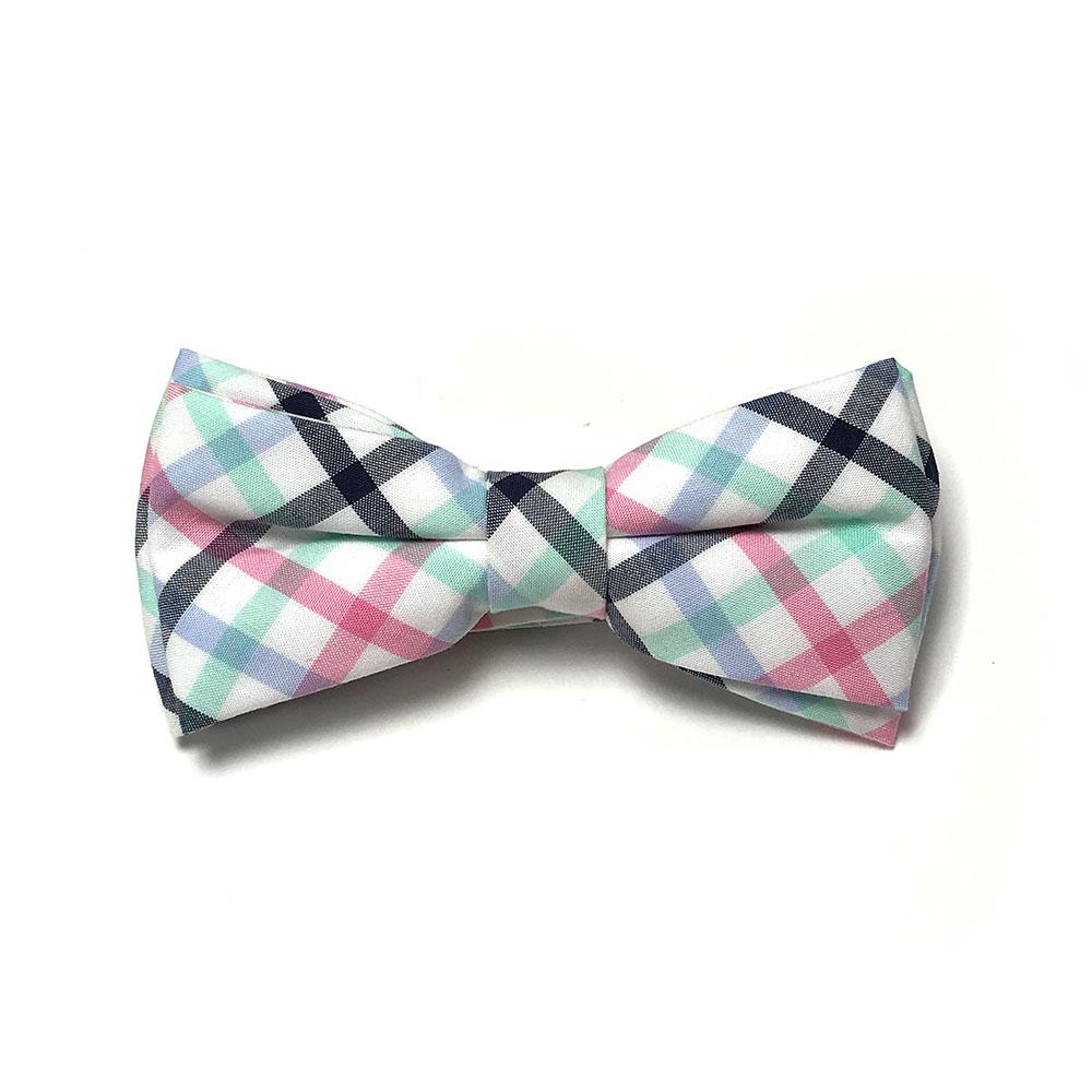紳士西裝領結啾啾 多色格紋 男寶寶 | Carter's 卡特【CACR04154】CE0202