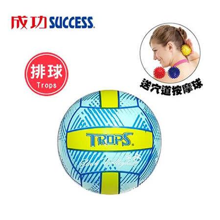成功 軟式沙灘排球 (附球網、球針)送穴道按摩球S4707 40353
