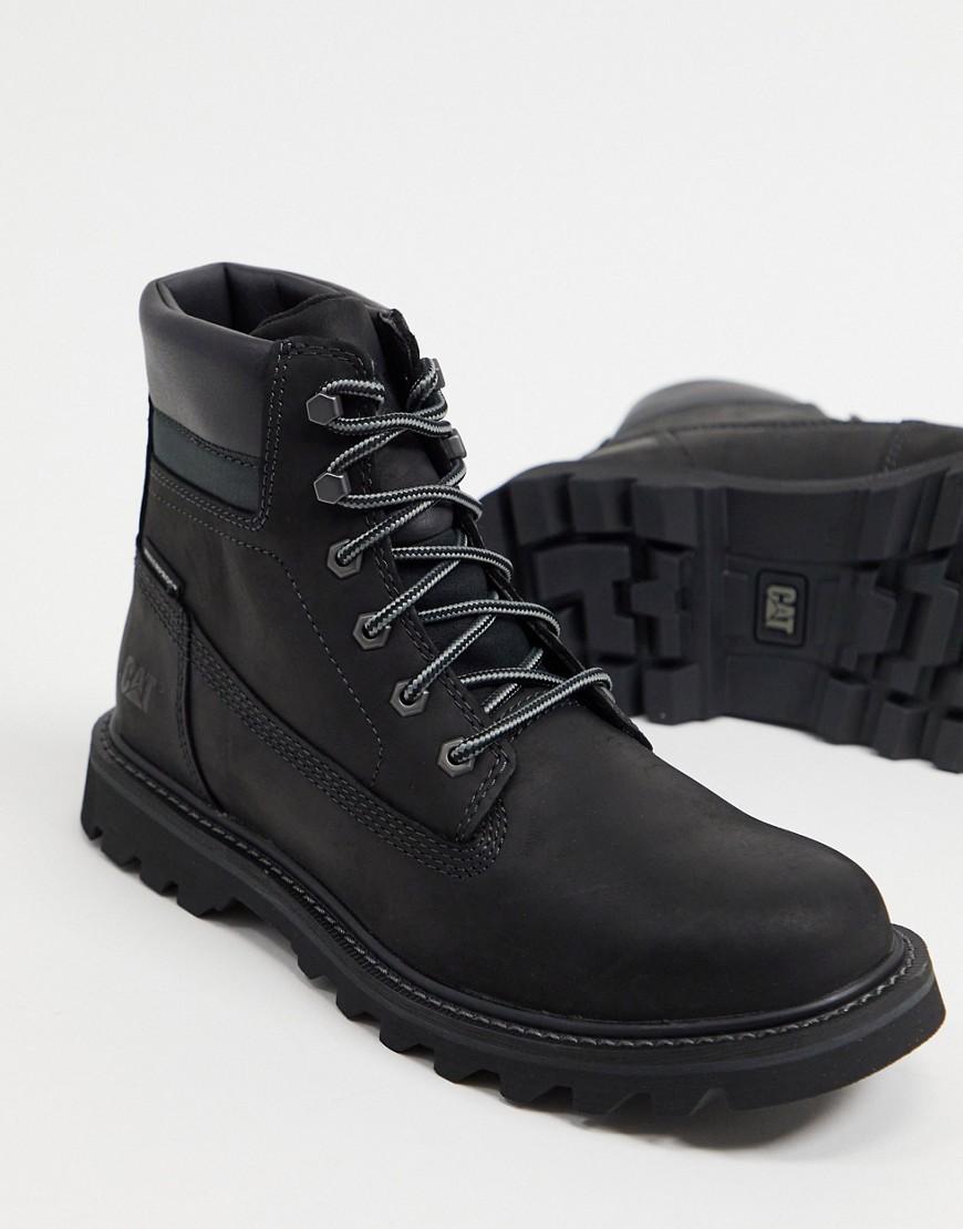 Caterpillar deplete waterproof boots in black