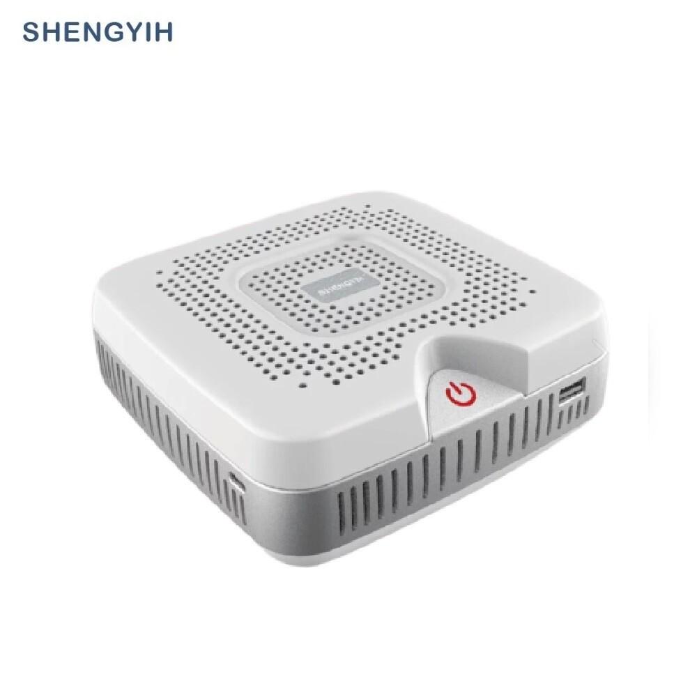 sy聲億晶鑽白apf01車用空氣清淨機台灣製造加贈3.1a雙usb車充+車窗擊破器(二合一)