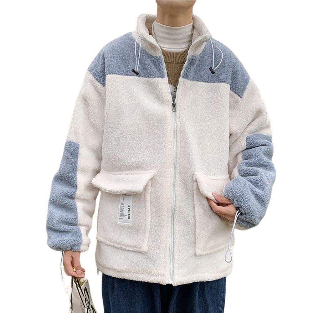 CPMAX 韓系羊羔絨棉襖外套 外套 男生衣著 韓系外套 防風外套 羊羔絨外套 棉襖外套 羊羔絨 棉襖 C171