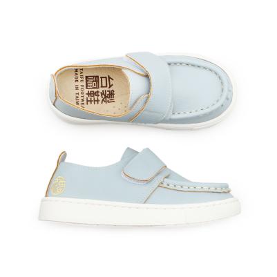 【台福製鞋】帆船型質感童鞋-藍(T5681)