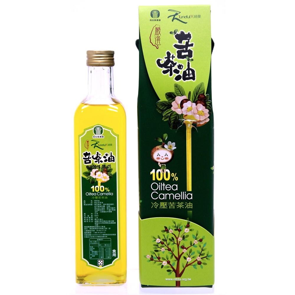 南投農會-苦茶油(500ml/瓶)