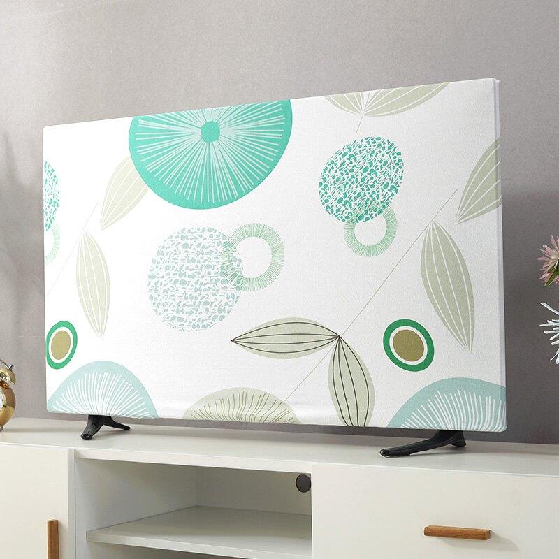 電視防塵罩 電視機罩防塵罩蓋巾43寸55寸50寸65寸家用掛式液晶電視套萬能蓋布『CM40318』