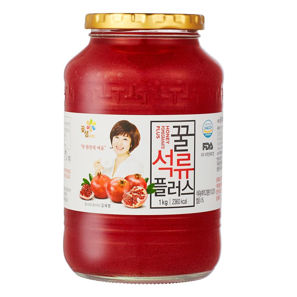 【韓味不二】花泉蜂蜜石榴茶(果醬)1kg
