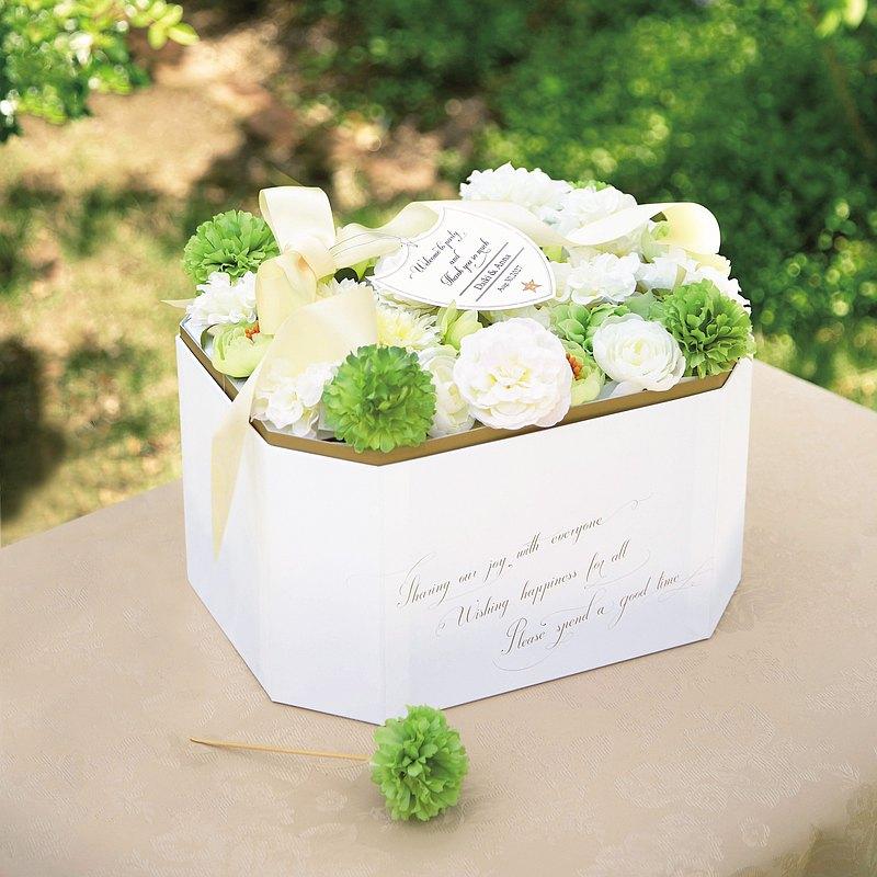 白玫瑰寶石盒(掏耳棒組) Fleur blanche bijou