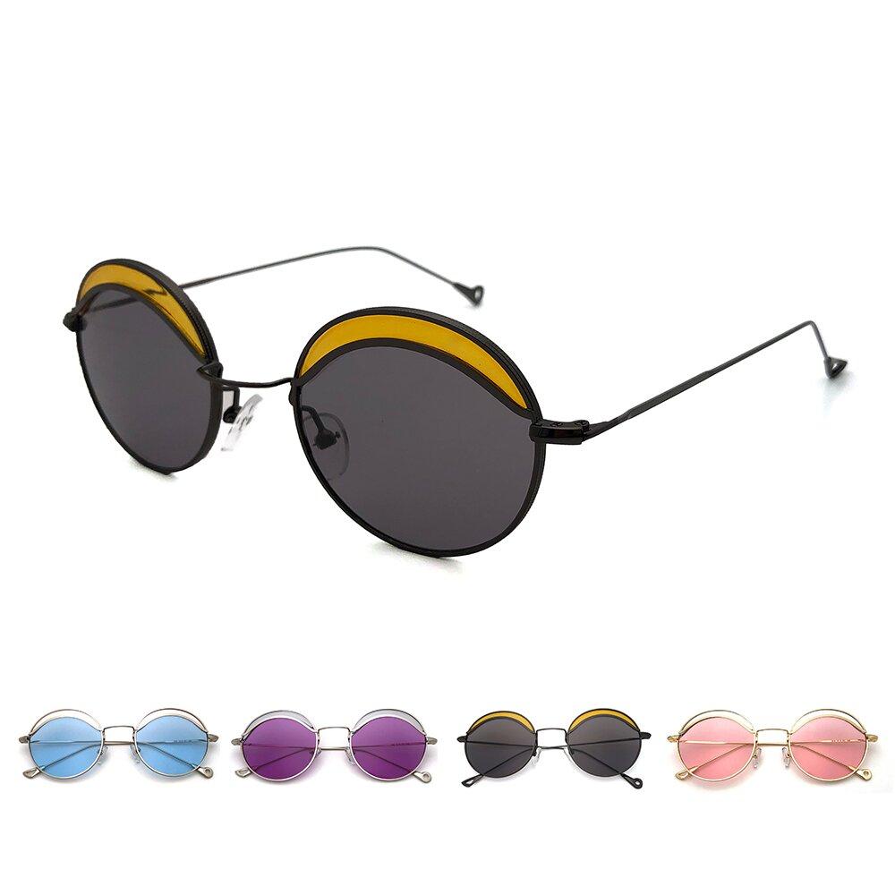 韓版系列太陽眼鏡 淘氣眉型造型墨鏡 抗UV(3186)