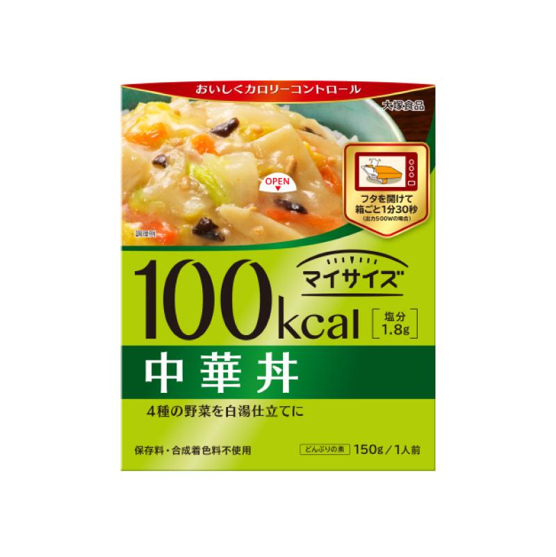 *不到100卡 [日本 大塚食品] 輕食主義低卡調理包 - 中華蔬菜丼 (150g/份)