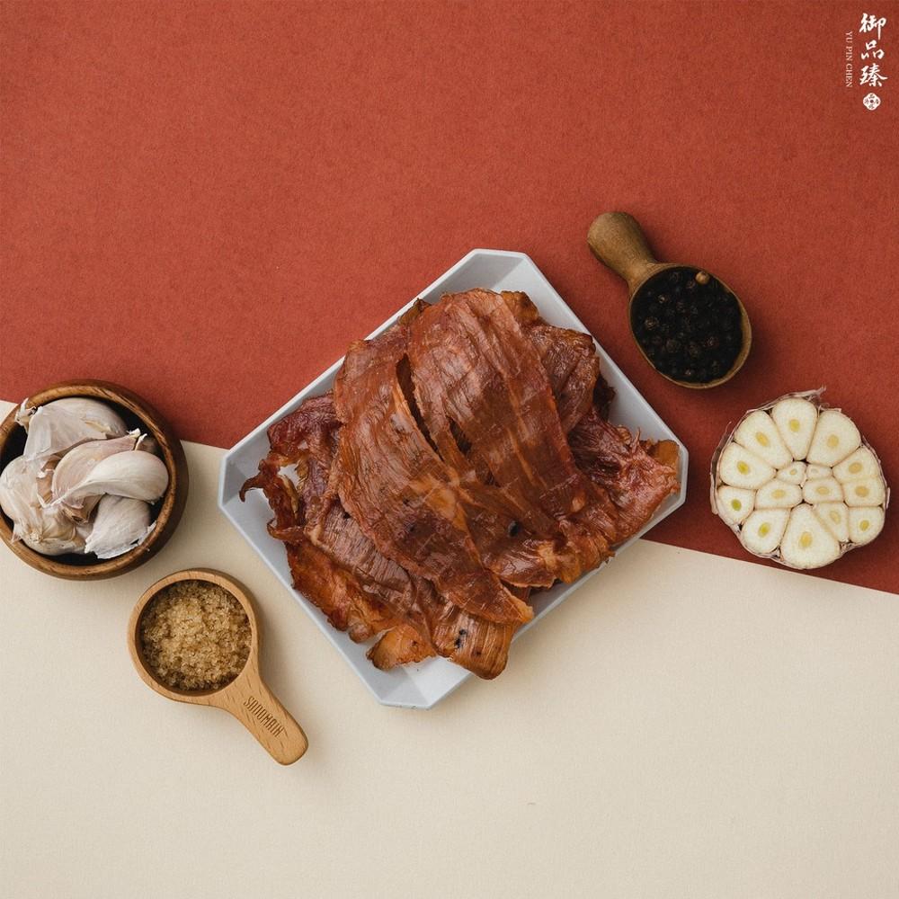 御品臻肉乾蒜味豬肉紙 190g - 蒜味豬肉紙