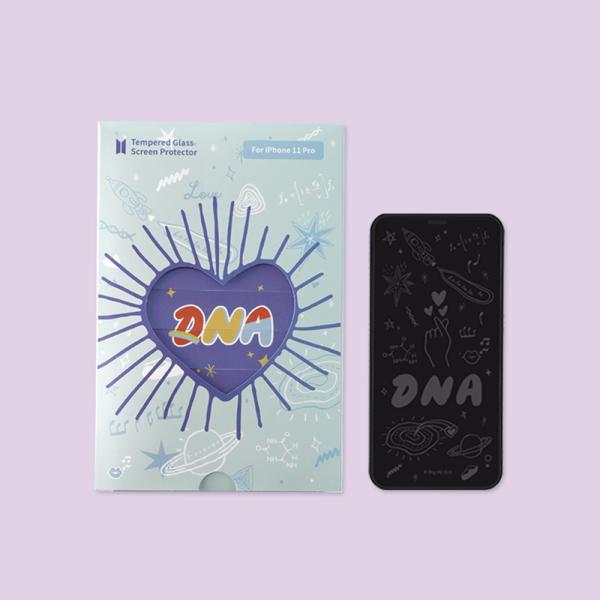 防彈少年團周邊 BTS DNA強化玻璃膜 iPhone液晶保護膜
