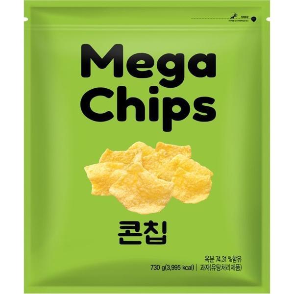 mega chips 玉米片 730g
