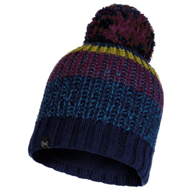 BUFF STIG 針織保暖毛球帽 保暖帽 毛帽 午夜藍 BFL117853-779 綠野山房