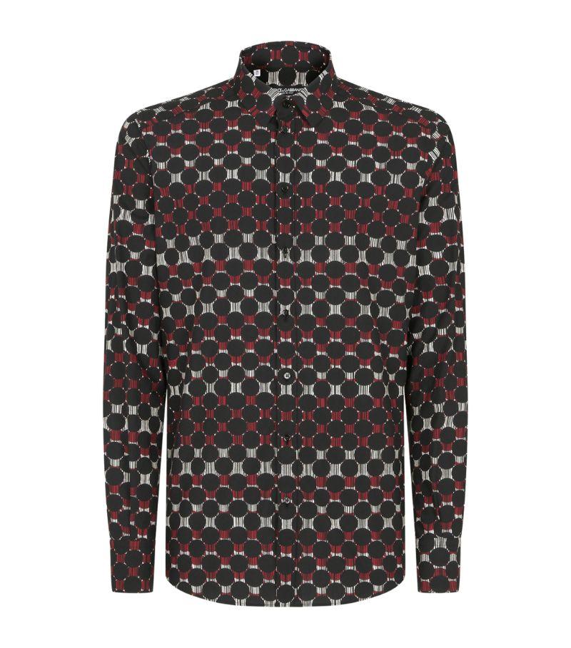 Dolce & Gabbana Cotton Printed Shirt