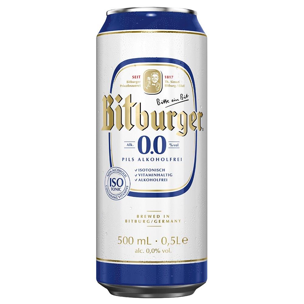 德國碧伯格 優質0.0%無酒精啤酒 500ml*24罐 [德國國家足球隊 指定飲料]